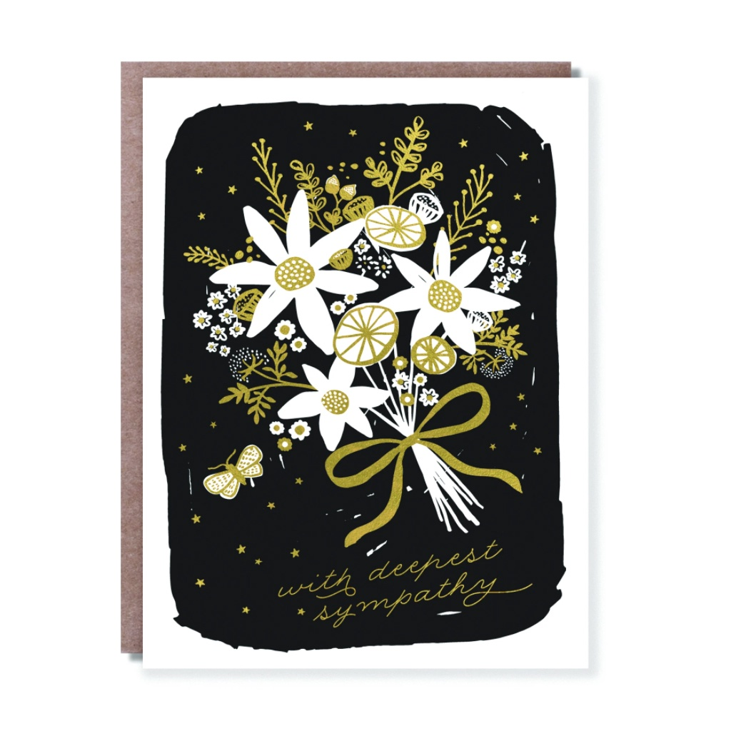 Sympathy Bouquet Card