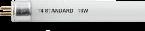 230V 16W T4 Fluorescent Tube 468mm Cool White 4000K