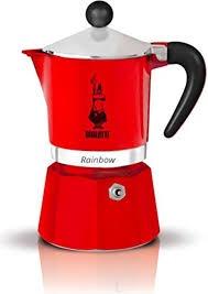 Bialetti 3 Cup Moka Express Red
