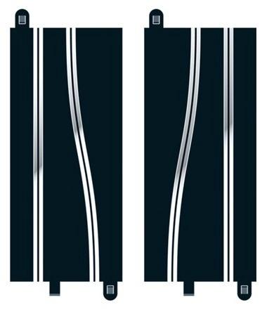 Scalextric #C8246 Side Swipe Straights 2pcs