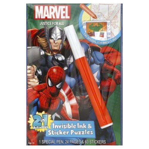 MARVEL SUPER HEROES MAGIC PEN