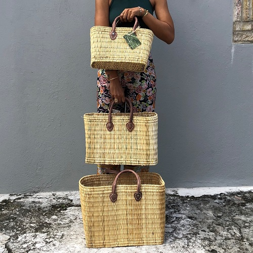 Basket Tote - Small