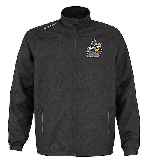 CCM Premium Skate Suit Jacket-VRC Kings Black- EMBROIDERED CREST