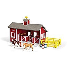 LITTLE RED STABLE SET