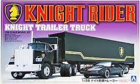 Aoshima #3066 1/28 Knight Rider Trailer Truck