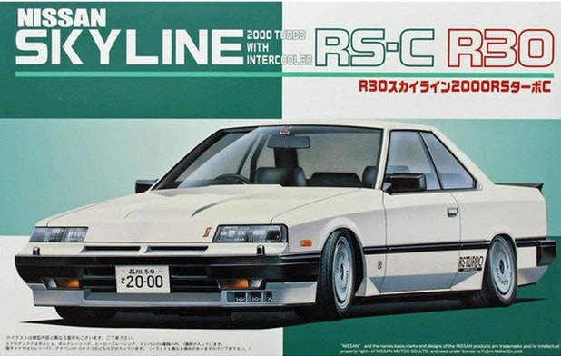 Fujimi #03654 1/24 Nissan Skyline RS-C R30