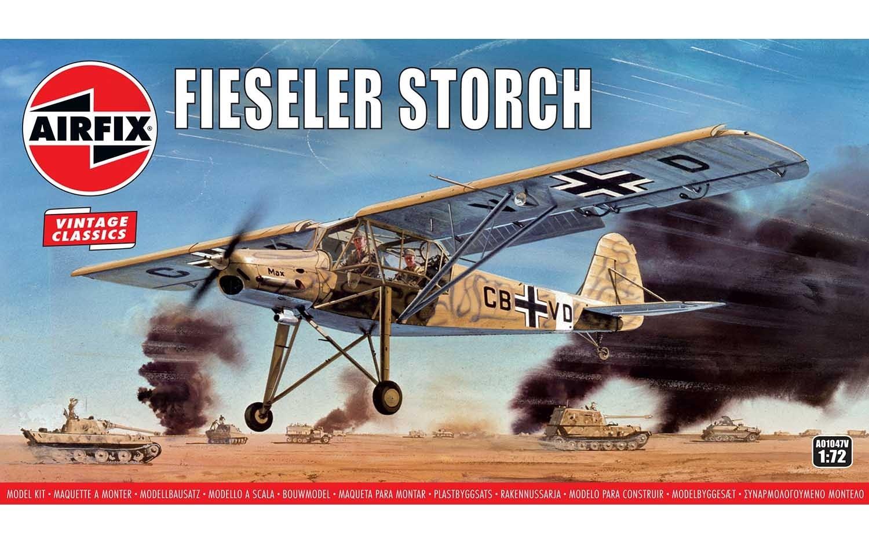 Airfix #A01047V 1/72 Fieseler Storch- Vintage Classics