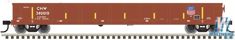 Atlas Trainman#20005432 HO Evans 52' Gondola Union Pacific
