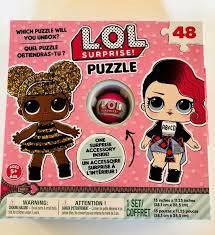 L.O.L. PUZZLE 48 PCS WITH FIGURE