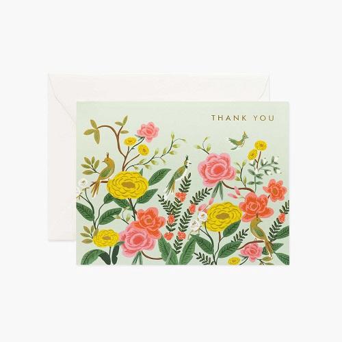 Shanghai Garden Thank You Card