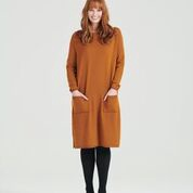 SALLY DRESS - COPPER