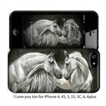 Elise Genest Phone Case Love You Too