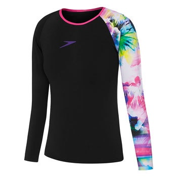 Girls Effervescent Long Sleeve Sun Top