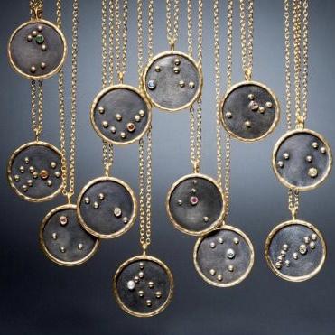 Zodiac Necklace  | Gold