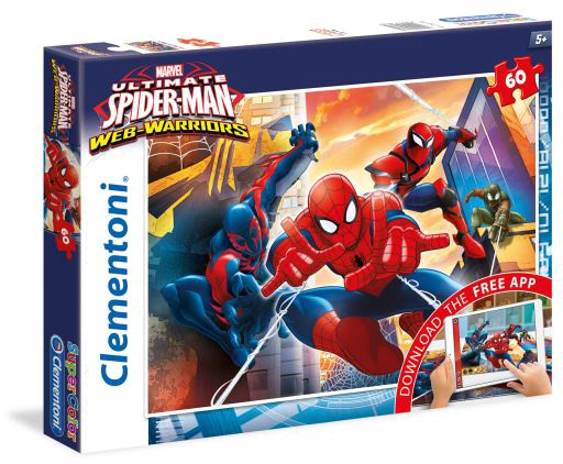 SPIDERMAN WEB WARRIORS 60 PCS PUZZLE
