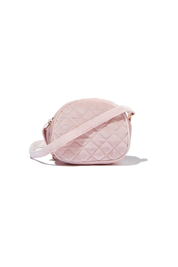 Milky QUILTED SLING BAG Pink
