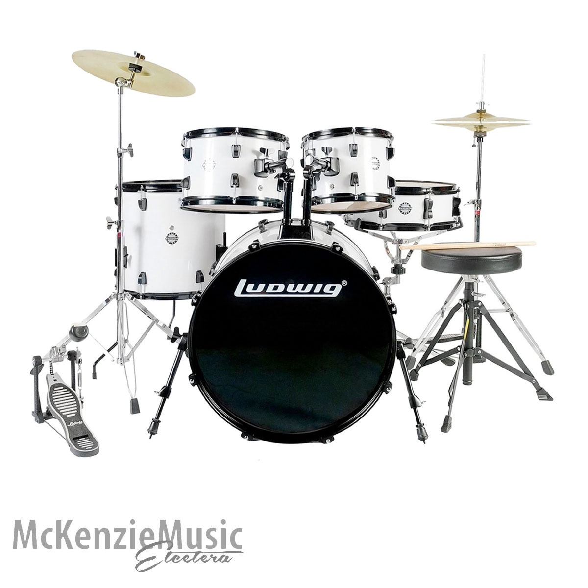Ludwig Accent Fusion Drumkit