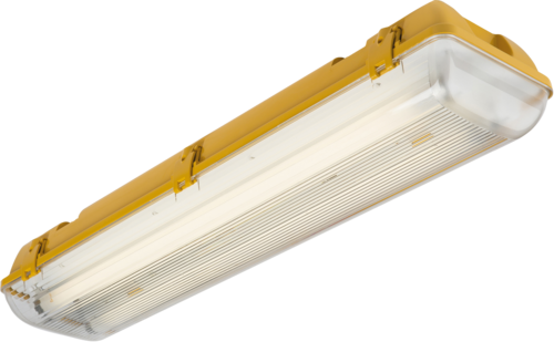 110V IP65 2x58W HF Twin Non-Corrosive Emergency Fluorescent Fitting