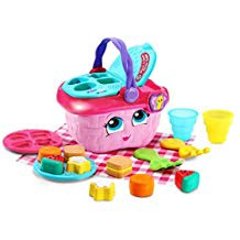 LEAP FROG SHAPES & SHARING PICNIC BASKET