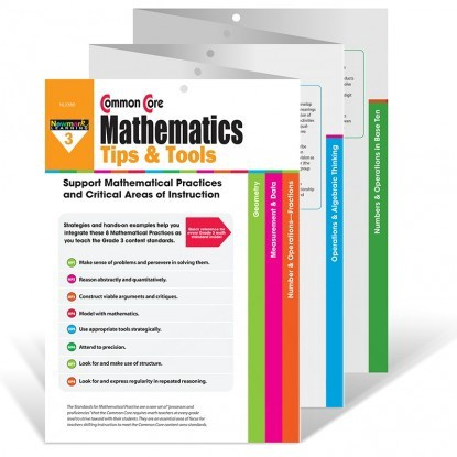 X NL 2385 COMMON CORE MATH TIPS AND TOOLS GR. 3