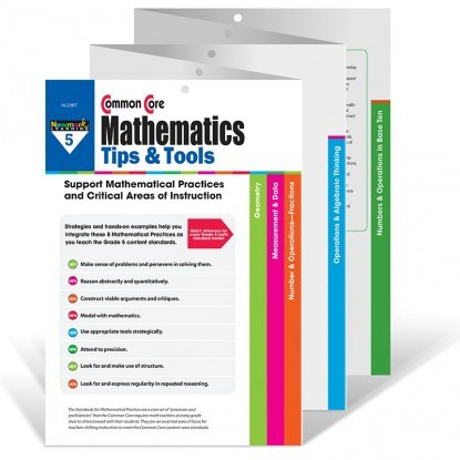 X NL 2387 COMMON CORE MATH TIPS AND TOOLS GR. 5