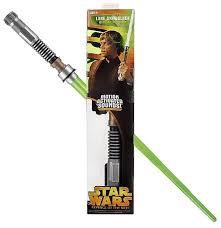 STAR WARS ELECTRONIC LIGHTSABER LUKE SKYWALKER