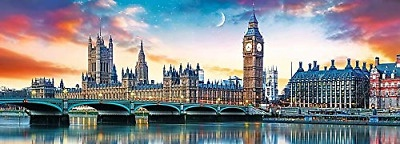 PANORAMA BIG BEN & PALACE OF WESTMINSTER 500 PCS