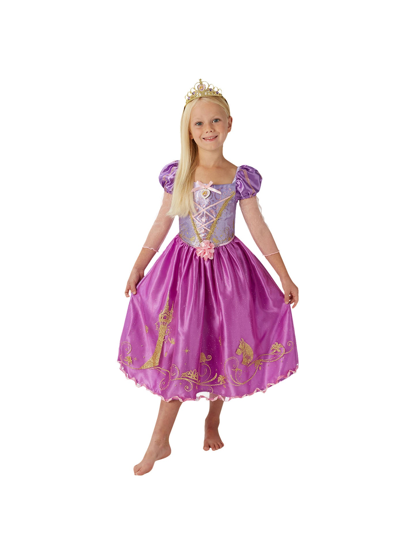 PRINCESS STORYTELLER RAPUNZEL SIZE M 5-6 YEARS