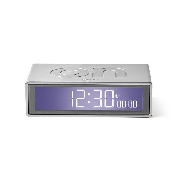 Flip + LCD Alarm Clock