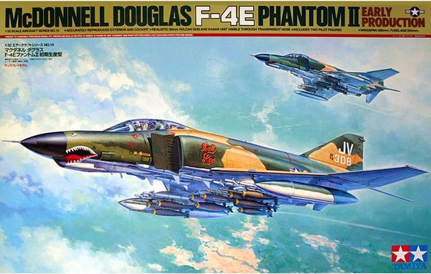 Tamiya #60310 1/32 F-4E Phantom 11 early production