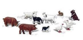 Scenic Accents #A2202 Barnyard Animals 10pce