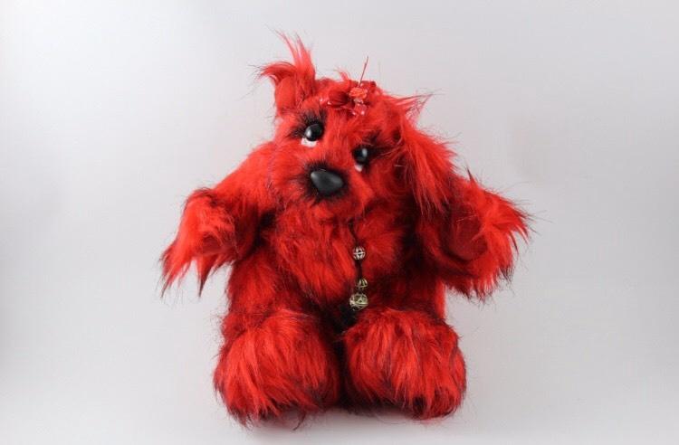 """Handmade Teddybear """"Firefly"""""""