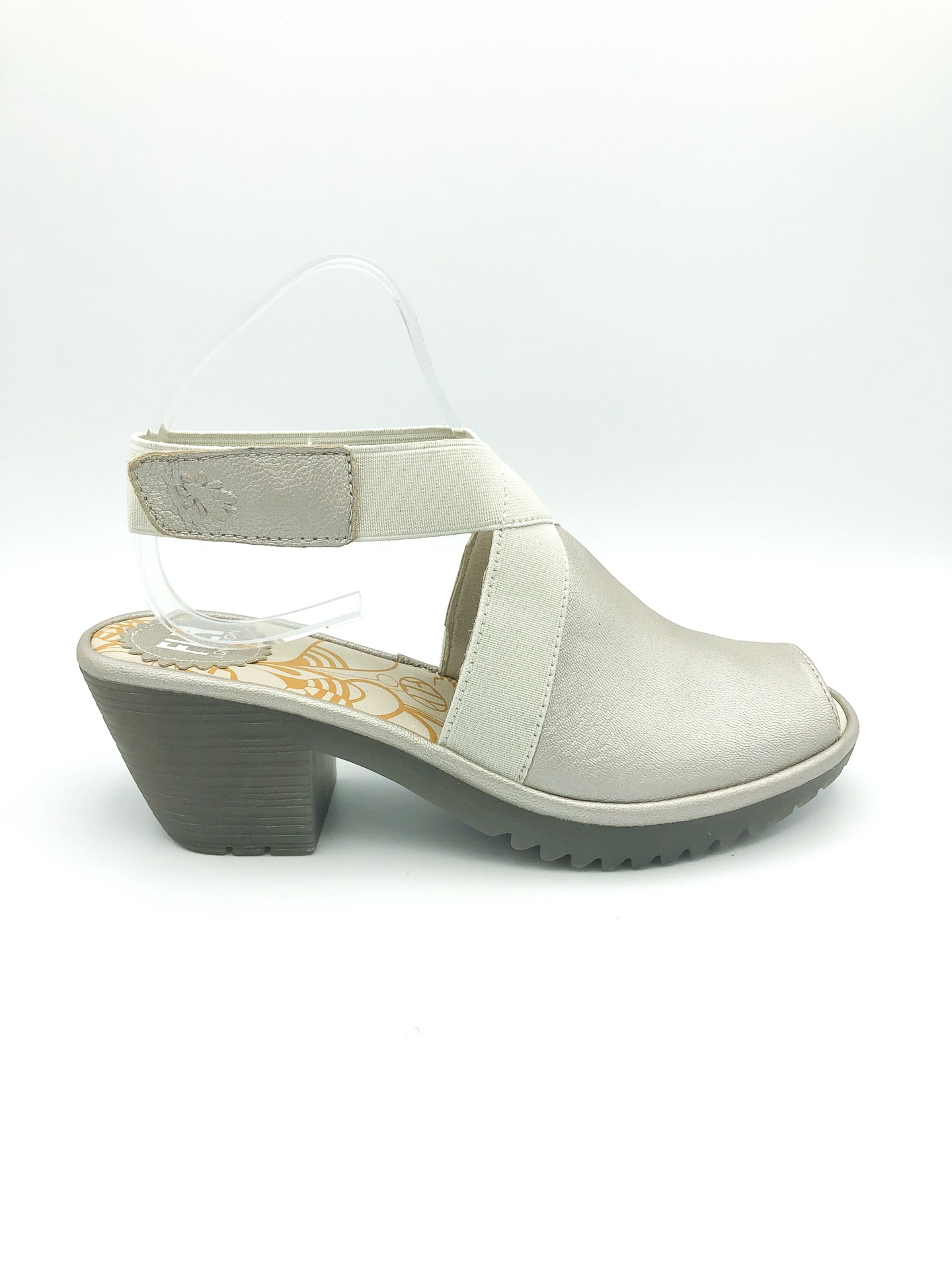 FLY LONDON - WATO944FLY IN SILVER/OFF WHITE