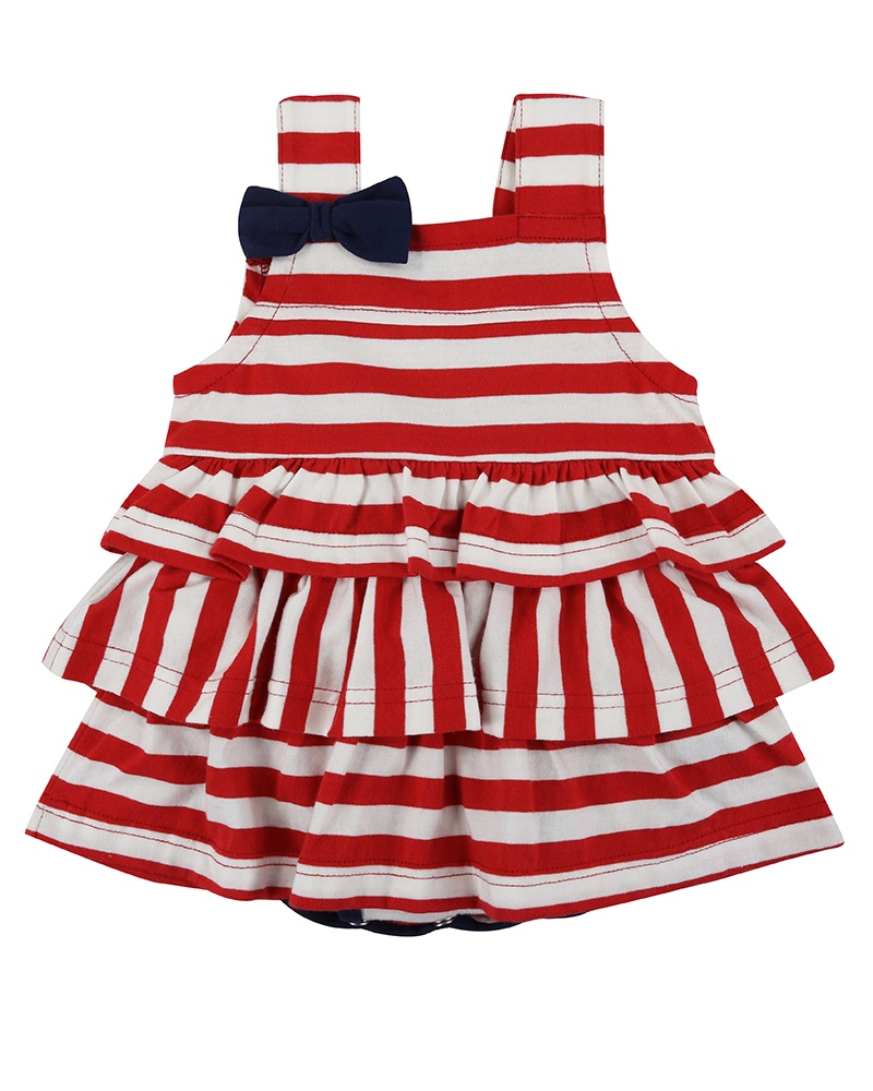 Lilly & Sid STRIPE SUNNY SUIT