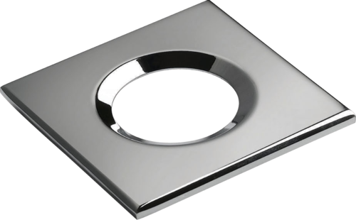 Square Chrome Bezel for VFRCOB Downlights