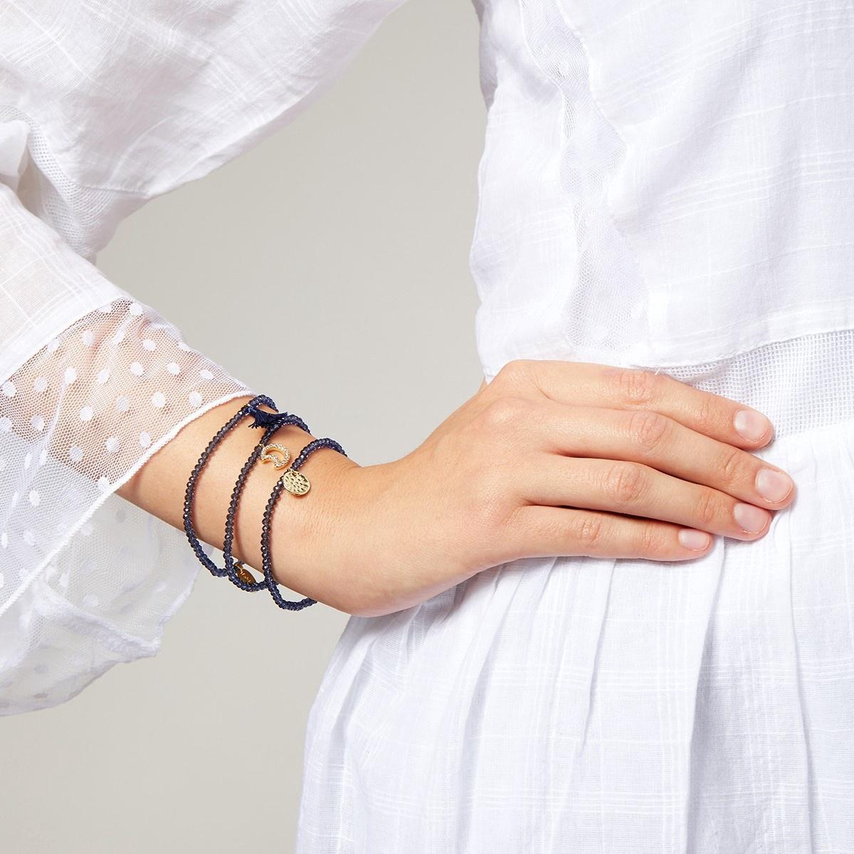 a8ea25e75ede2 Treasure Moon Charm Bracelet by Ashiana London - Rose and Lyons