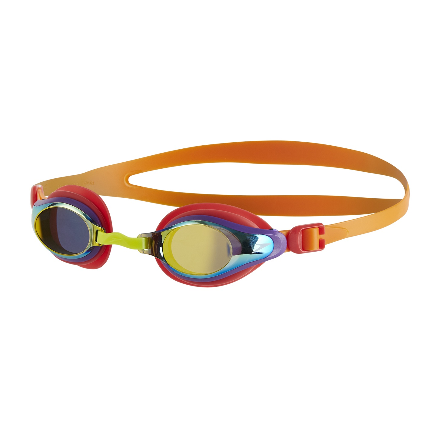 Junior Mariner Supreme Mirror Goggles Jaffa/Watermelon/Gold