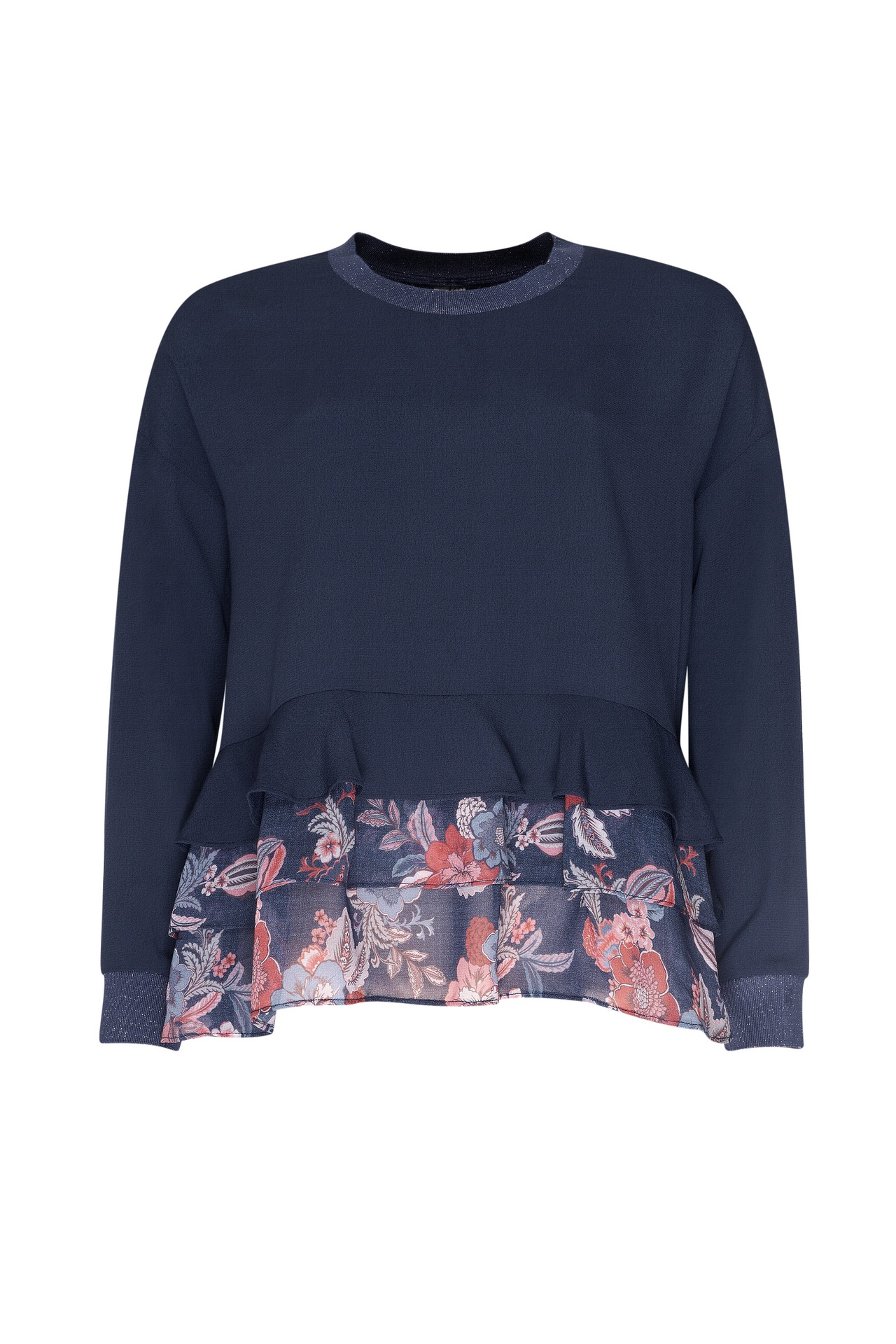 LS1307 Tapestry Frill Top