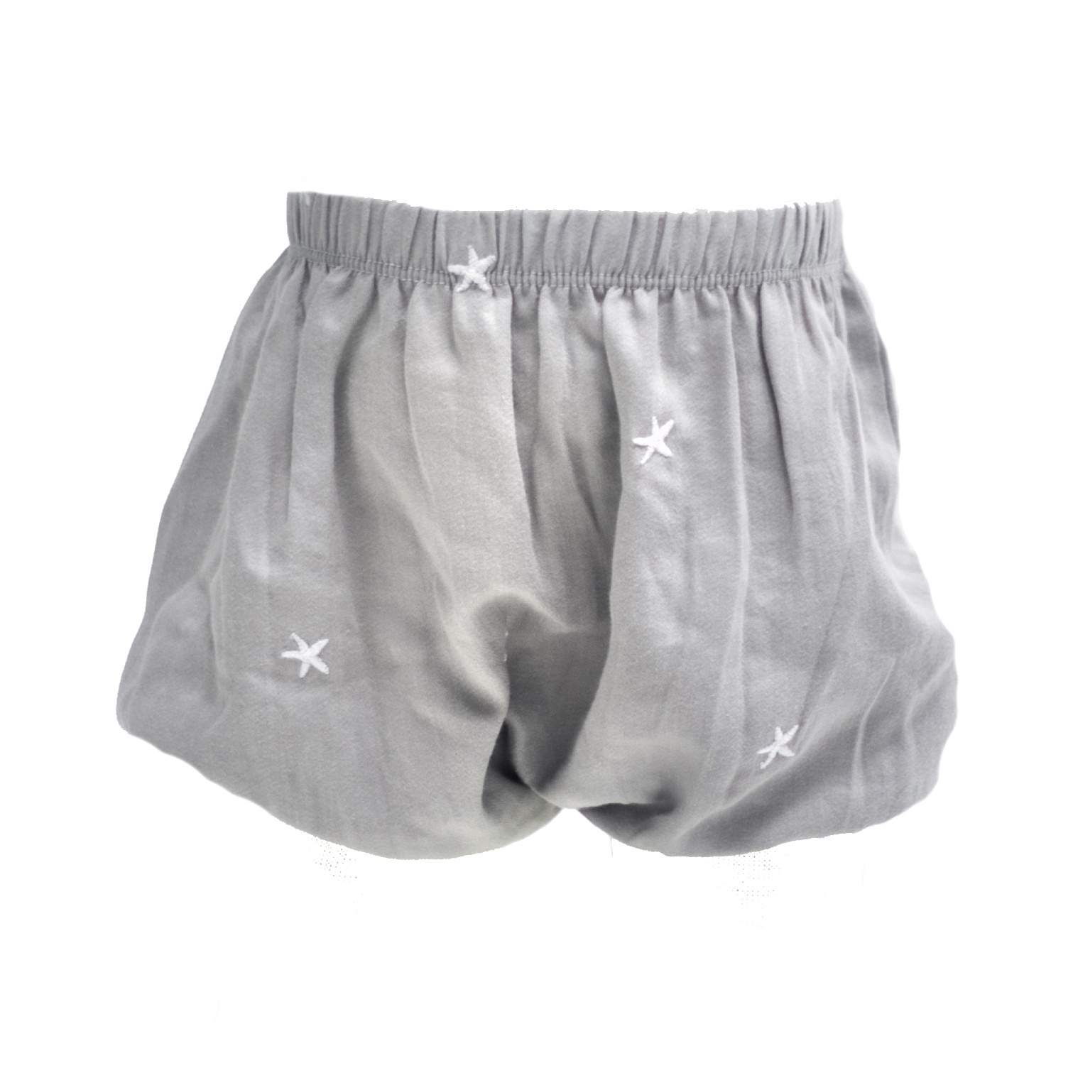 GREY STAR EMBROIDERED BLOOMERS