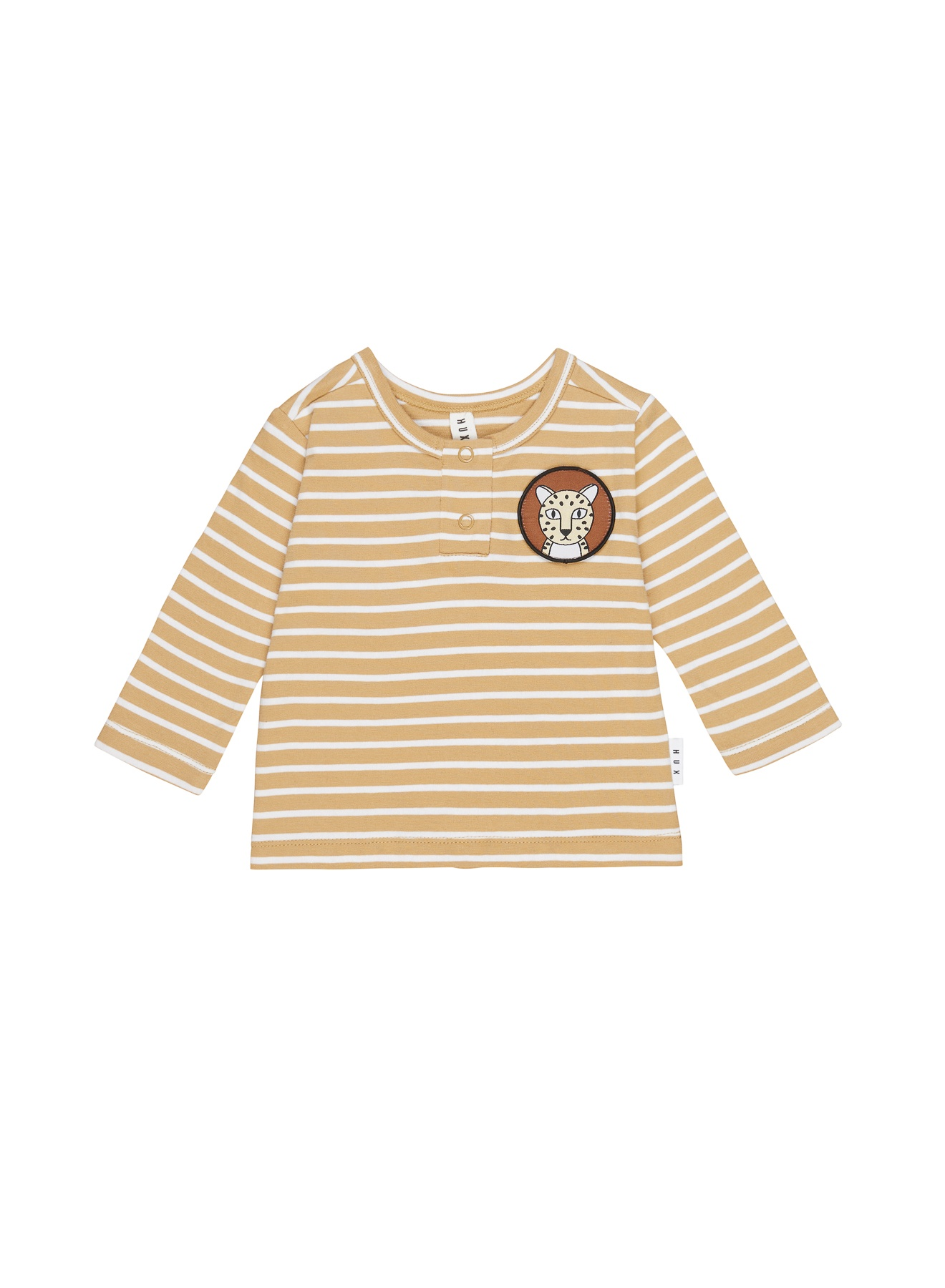 MUSTARD STRIPE TOP KID
