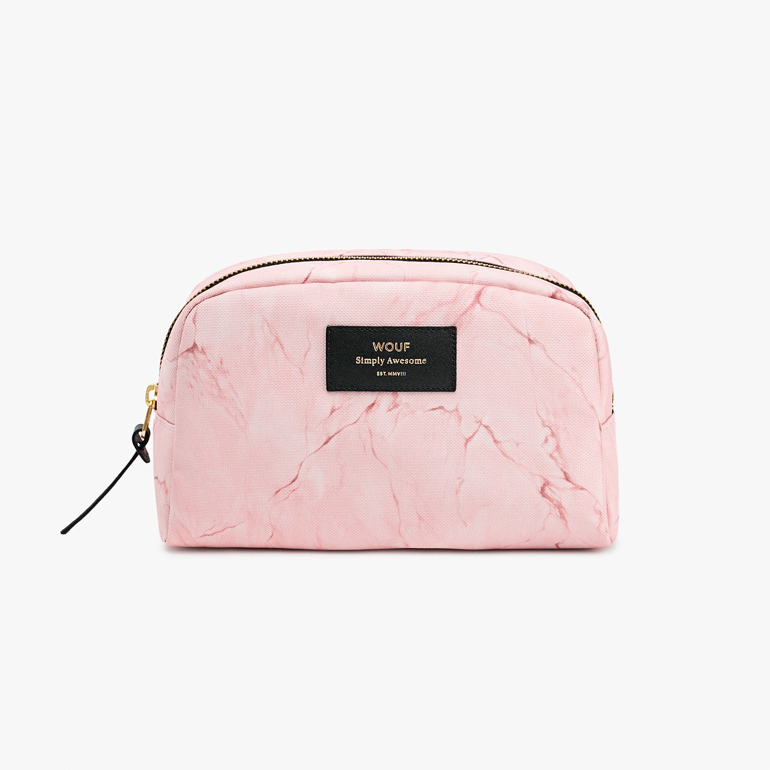 Beauty Pouch | Pink Marble