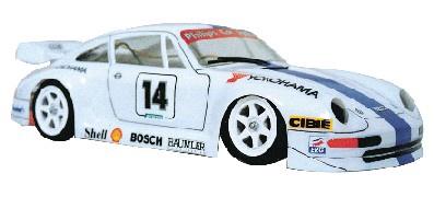Frewer #FR1N 1/10 Porsche 911 Body Shell