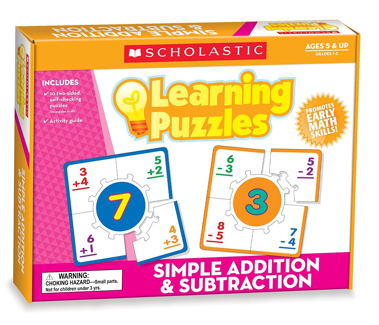 X SC 0545302319 SIMPLE ADD / SUBTRACT PUZZLE