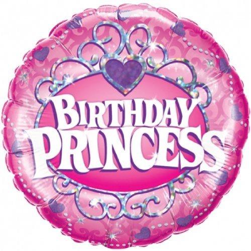 BIRTHDAY PRINCESS PINK FOIL BALLOON