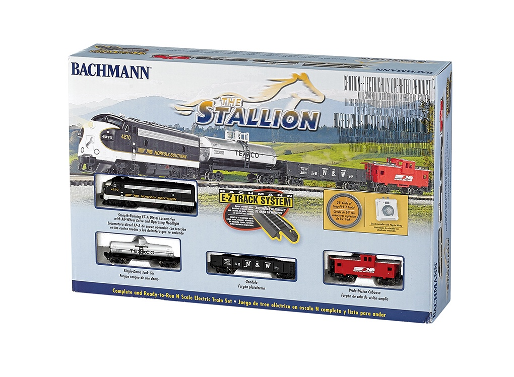Bachmann #24025 The Stallion Set (N Scale)