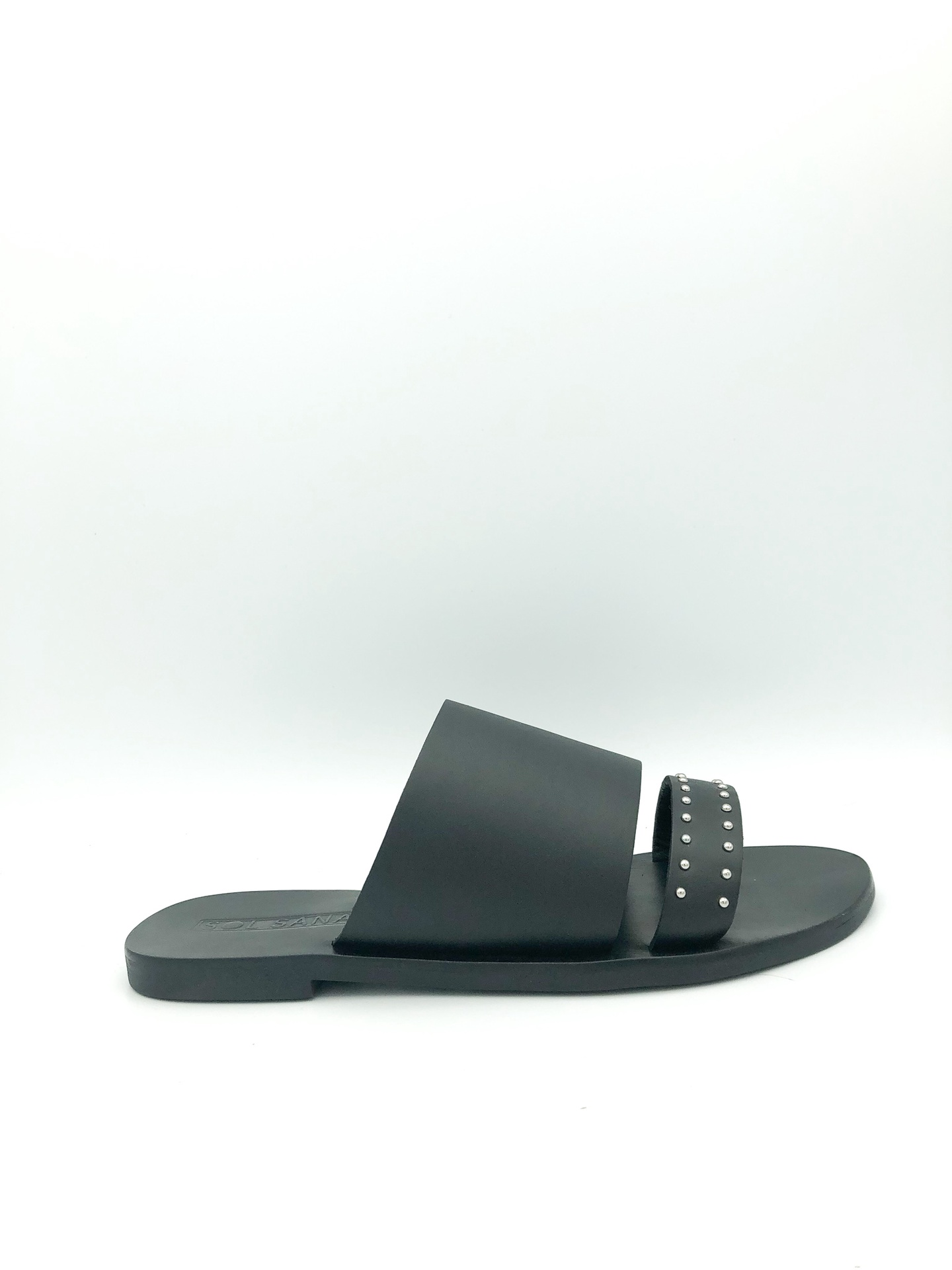 SOL SANA - JOBE SLIDE IN BLACK STUD