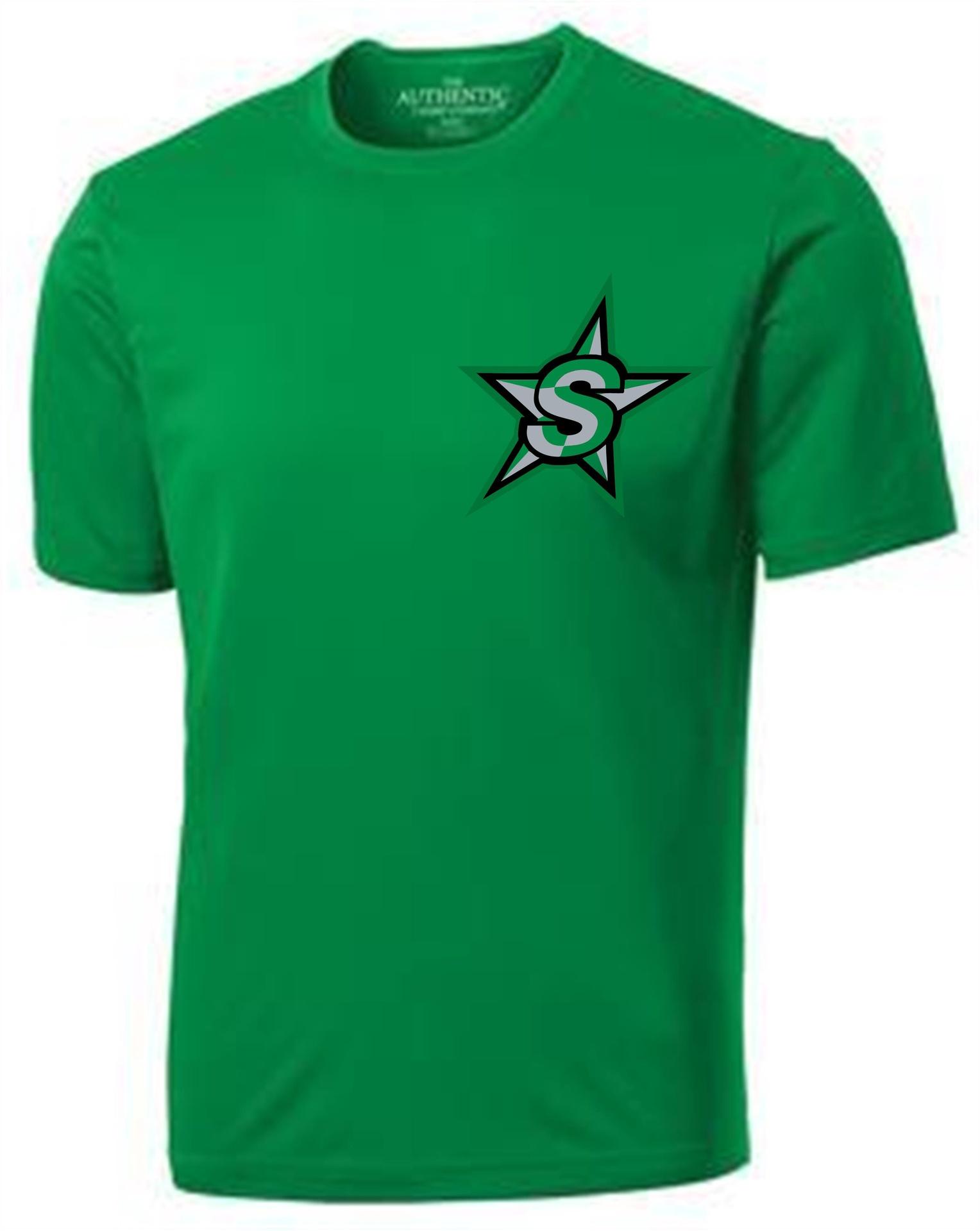 Stars Short Sleeve Dry Fit Shirt