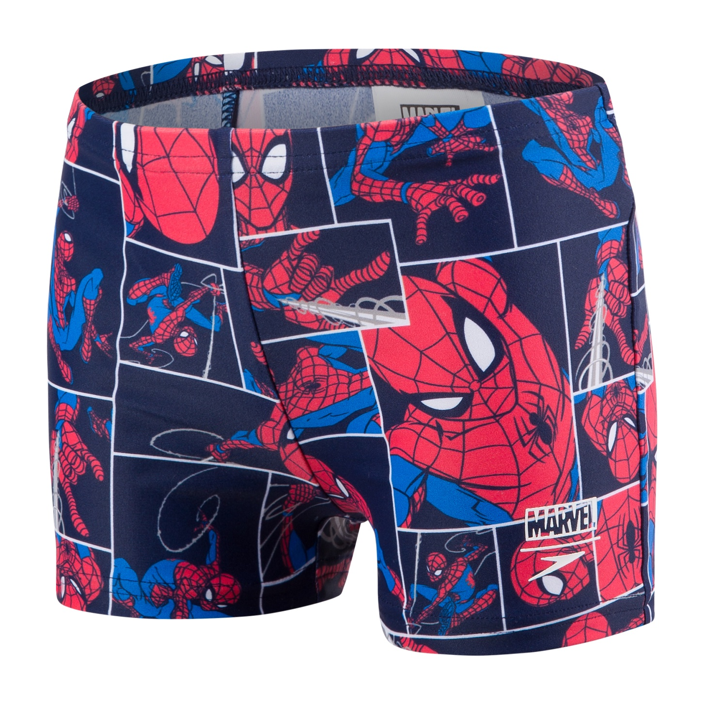 Toddler Boys Marvel Spiderman Aquashort