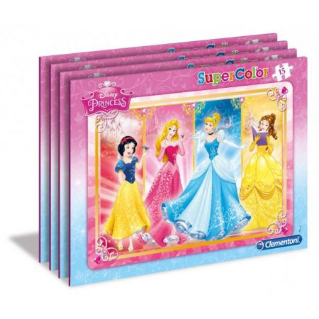 DISNEY PRINCESS PUZZLE CORNICE 15PCS