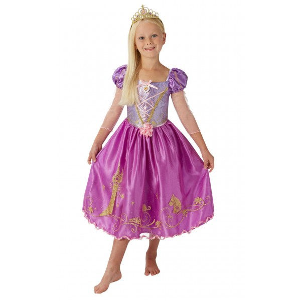 PRINCESS STORYTELLER RAPUNZEL SIZE L 7-8 YEARS